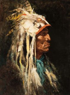 """Medicine Man"" by Howard Terpning"