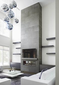 32 Best Fireplace Surrounds Images Concrete Fireplace Fireplace