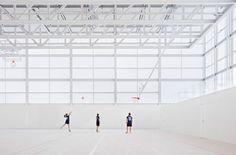 "Alberto Campo Baeza's sports centre building in Madrid is a ""box of light"""