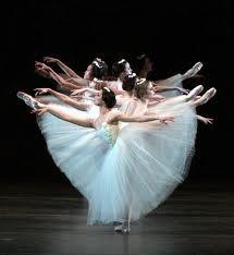 Beautiful corps de ballet