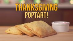 Thanksgiving Pop Tart Recipe! Use those leftovers in a new delicious way! Instagram: http://www.instagram.com/nomcityofficial SnapChat: NomCity Facebook: htt...