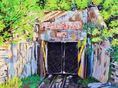 Hector Mine, Acrylic, 30x40 inches, December 2017 Stuff To Do, December, Art, Art Background, Kunst, Performing Arts, Art Education Resources, Artworks