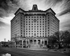 13 Haunted Places In Texas Will Send Chills Down Your Spine  3) Baker Hotel - Mineral Wells, TX