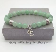 bracelet bouddhiste en jade Signe Ohm : Bijoux pour hommes par made-with-love-in-aiacciu