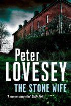 The Stone Wife (Peter Diamond Mystery) By Peter Lovesey - Just as the bidding gets exciting in a Bath auction house, three armed men stage a hold-up and attempt to steal Lot 129, a medieval carving of the Wife of Bath. The highest bidder, appalled to have the prize snatched away, tries to stop them and is shot dead.  Peter Diamond, head of the murder squad, soon finds himself sharing an office with the stone wife - until he is ejected.