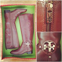 Tory Burch boots...WANT<3 <3 <3
