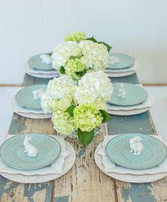 Decorative Bunny Plate
