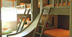 Someday in the very distant future I will have grandkids. Said grandkids WILL have something this cool. - #TODesign #interiordesign - via Prismma  Interior Design Magazine - http://ift.tt/1gDHXMJ interiordesign