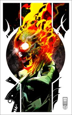 Ghost Rider commission!!!! by MantisStudioComics