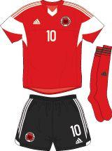Albania   home jersey   2014-16