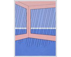 JOHN WESLEY Rain with No Floor, 1980