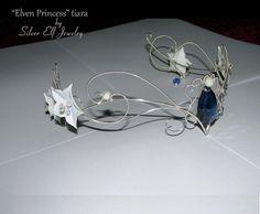 Tiara princesa élfica elfos boda boda tiara diadema élfica