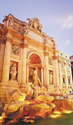 Trevi Fountain in Rome, Italy #travel