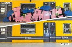 CRÓNICA FERROVIARIA: SBASE: El vandalismo en el subte se redujo a la mi...