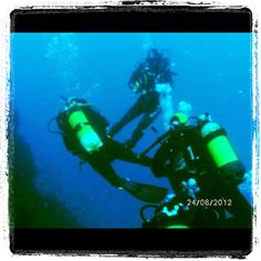 Divemaster in action!