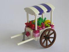 For this month's Friends Bricks Building Challenge. Lego Duplo, Lego Food, Lego Village, Lego Furniture, Minecraft Furniture, Lego Simpsons, Lego Creative, Lego Sculptures, Lego Boards