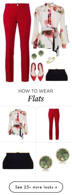 """women's fashion"" by style-by-shannon-leeper on Polyvore featuring Gucci, Lanvin and Anne Sisteron"