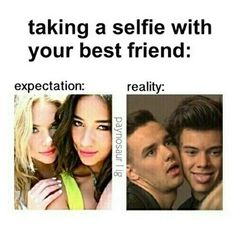 Find images and videos about funny, one direction and lol on We Heart It - the app to get lost in what you love. Funny Best Friend Memes, Crazy Funny Memes, Really Funny Memes, Best Friend Quotes, Stupid Memes, Funny Relatable Memes, Wtf Funny, Funny Quotes, Hilarious
