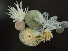 MARIKO KUSUMOTO SEA CREATURE BROOCH Polyester