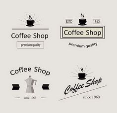 Retro Coffee Logotypes