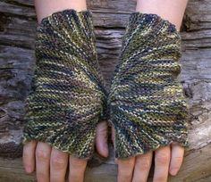Multicolor knit wrist warmers. Fingerless wool gloves. Unisex accessories