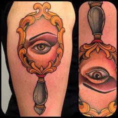 fulviovaccarone: Progress…#tattoo #tattoos #tattooer #tatuaggi #tattoomag #tatsontats #tattoolife #tattoosnob #tattooitalia #tattooistartmag #topclasstattooing #the_inkmasters #tattooworkers #ink #inked #inked_fx #inkedmag #inkjunkeyz #neotrad #ntgallery #neotraditional #neotradsub #oldlines #mirror #eye Fulvio Vaccarone
