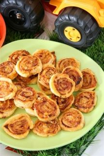 Puff Pastry - Easy Cheesy Wheels