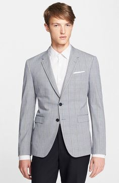 $1,075, London Kensington Plaid Blazer by Paul Smith. Sold by Nordstrom. Click for more info: http://lookastic.com/men/shop_items/206862/redirect