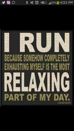 hit the nail on the head. this must be why i've always enjoyed running.