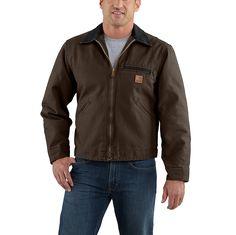 Men's, Wind Resistant, 12 oz Cotton Sandstone Duck.