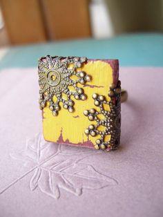 Beautiful!!!!  #Scrabble #tile #ring