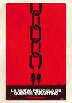 Teaser póster de #DjangoUnchained