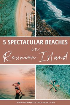 With its ideal location in the middle of the Indian Ocean, one of Reunion Island's strongest bragging points are its surplus of dreamy beaches (plus the waterfalls and bubbling volcano!) And the creme de la creme of its picturesque strips of unspoilt sand? The West Coast of the island. Here are the best beaches in Reunion Island along the West Coast for beach bums! #reunionisland #islandtravel #beaches via @wanderlustmvmnt