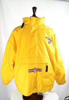 Disney Store #Tigger All Weather #Jacket Coat L Yellowish Orangeish Lined w/ Hood #Disney #linedpullover