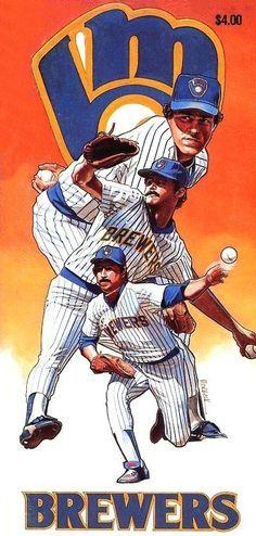 best website 52835 317df Milwaukee Brewers Baseball Art, Baseball Players, Baseball Stuff, Baseball  Equipment, Milwaukee Brewers