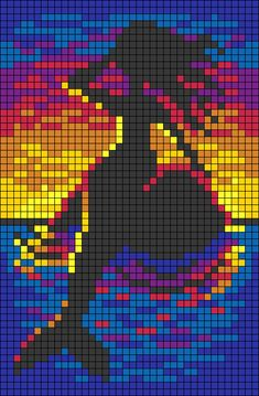 Animal Sewing Patterns, Alpha Patterns, Cross Stitch Pattern Maker, Cross Stitch Patterns, Hama Beads Patterns, Beading Patterns, Pixel Art Grid, Pixel Drawing, Tapestry Crochet Patterns