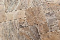 Size (Width) X (Length) X (Thickness). Size (Width) X (Length) X (Thickness). Size (Width) X (Length) X (Thickness). Size (Width) X (Length) X (Thickness). Travertine Tile Backsplash, Travertine Floors, Stone Flooring, Kitchen Backsplash, Portland, Versailles Pattern, Chair Rail Molding, Tile Stores, Outdoor Tiles