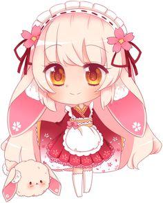 G: Yoonsi by mahkala on DeviantArt Kawaii Neko Girl, Chibi Kawaii, Cute Anime Chibi, Manga Cute, Chibi Girl, Anime Kawaii, Kawaii Art, Cute Animal Drawings Kawaii, Kawaii Drawings