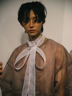 korean gender-fluid brand blindness take london menswear - i-D - Streetwear Fashion Trends, Outfit Ideas, Men and Women Models Queer Fashion, Androgynous Fashion, Fashion Outfits, Men's Outfits, Fashion Fashion, Pretty People, Beautiful People, Aesthetic People, Victor Hugo
