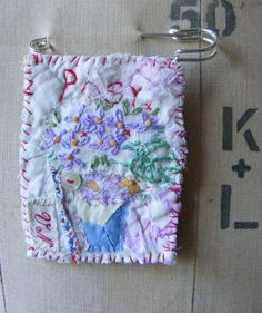 Handmade Brooch Pretty Posy by hensteeth on Etsy, $25.00