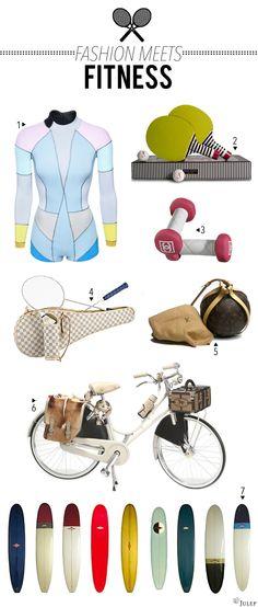 Designer Sporting Goods: Would You? - Julep Blog - Julep Beauty Buzz