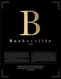 baskerville poster - Google Search