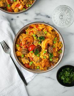 Cauliflower Rice Paella-2