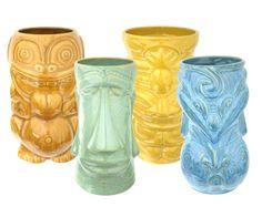 #Tiki mugs.