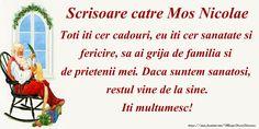 Felicitari de Mos Nicolae - La multi ani Nicolae! - mesajeurarifelicitari.com Happy Anniversary Cards, Album, Words, Cots, Horse, Anniversary Cards, Card Book