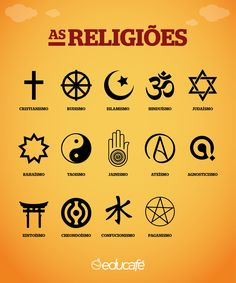 Religião Religious Symbols, Religious Education, Bibel Journal, Gernal Knowledge, Symbols And Meanings, Bible Teachings, Wicca, Bible Quotes, Tatoos