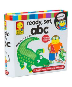 Another great find on #zulily! Touch & Feel Flash Cards - ABC #zulilyfinds