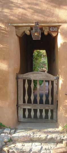 Canyon Road Gate, Santa Fe