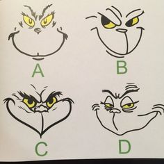 Grinch Printables Grinch Mask Coloring Pages Christmas Grinch