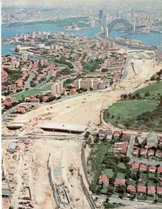 Date The image shows North Sydney looking towards the city. Sydney City, Sydney Harbour Bridge, Sydney Map, Old Pictures, Old Photos, Vintage Photos, Aboriginal History, Australian Photography, Historical Images